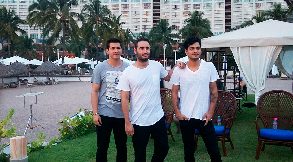 Reik knew that Puerto Vallarta sunsets were ideal to match with the concept of their new album