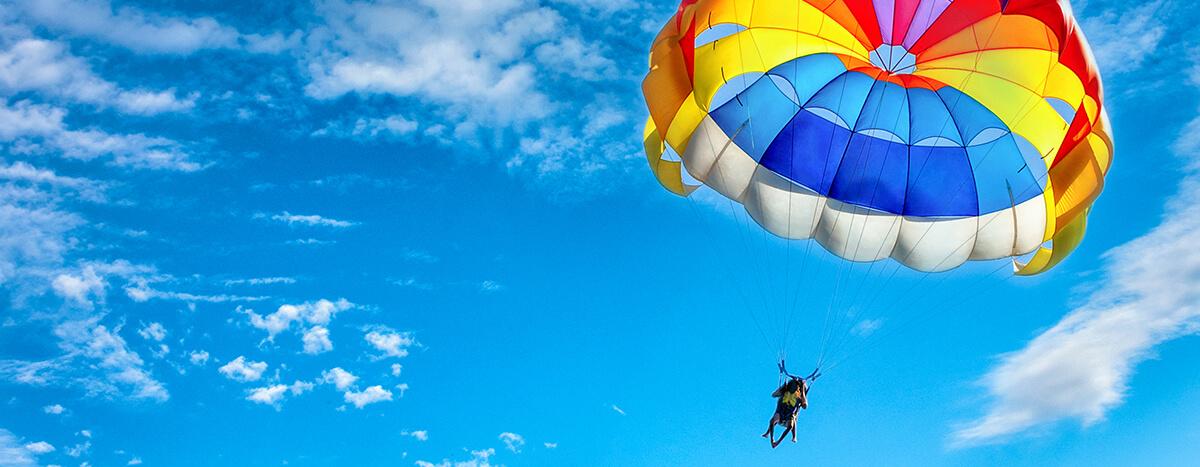 Lanzarte en paracaídas