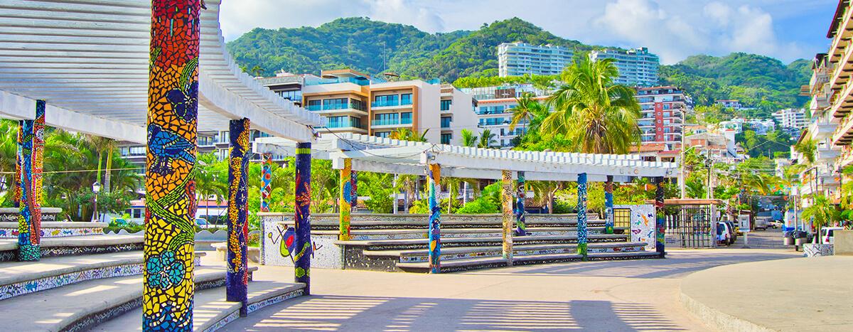 Parque azulejos en Puerto Vallarta