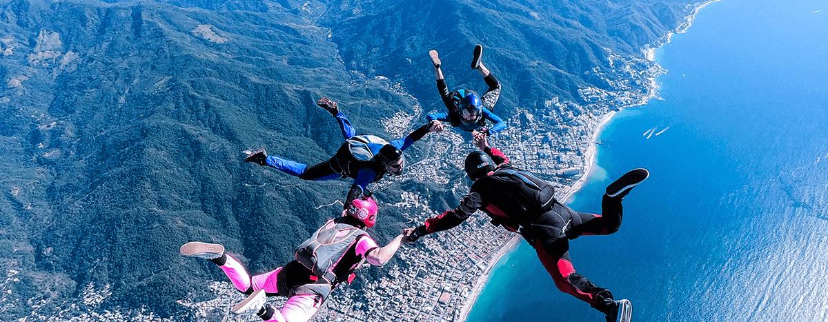 Skydive in Puerto Vallarta