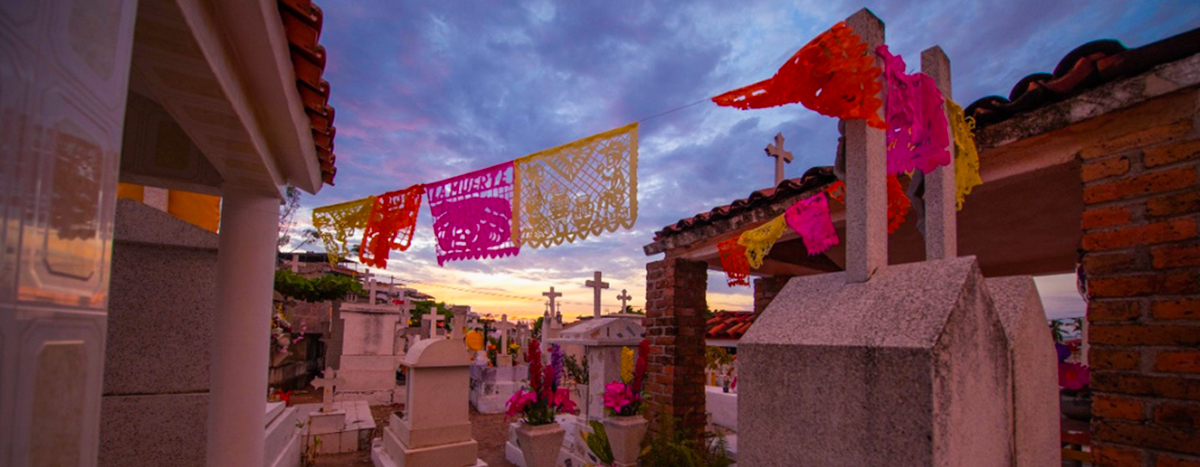 Puerto Vallartais a loyal and devoted town to day of the dead tradition